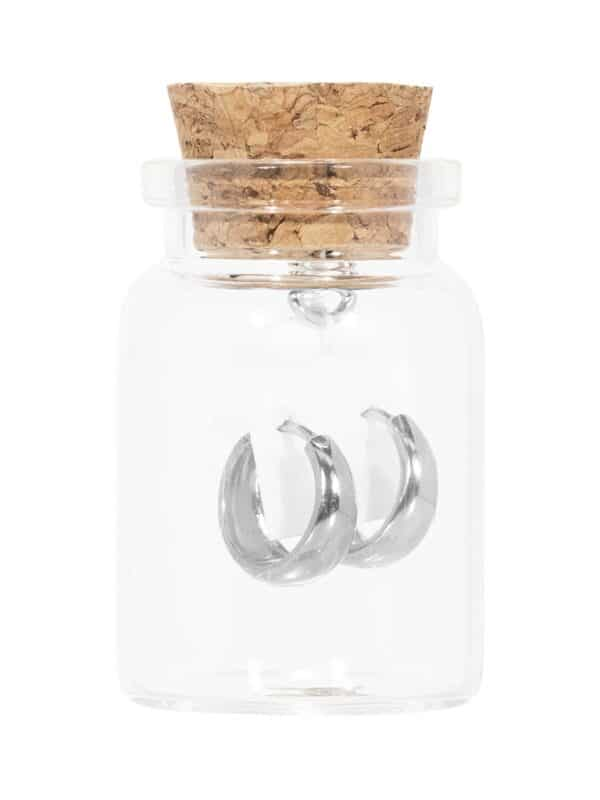 Bold fles zilver web